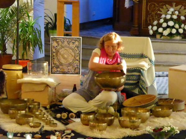 Concert Méditatif Anne-Marie Kubler chapelle de l'Ochsenfeld juin 2015