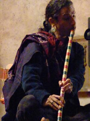 Steev Kindwald Flûte en bambou